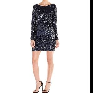 Jessica Simpson Sequin long sleeved dress